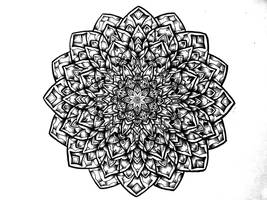 Sketchy Mandala by Attealexi