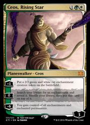 Ceos - Planeswalker Card by Cryptos13