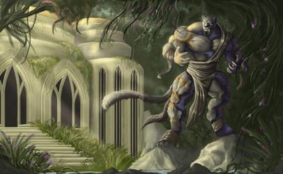 Sungarden Stalward - Adastra Illustration by Cryptos13