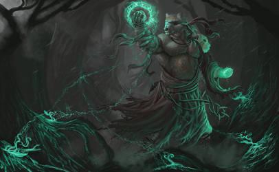 Askarn The Runesage - Adastra Illustration by Cryptos13
