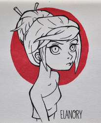Inktober #2 by Elanory