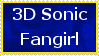 3D Sonic Fangirl Stamp by JFG107-Stamps