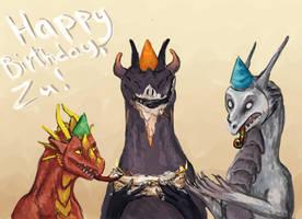Happy birthday! by Deanosaior