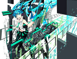 My World featuring Hatsune Miku by Firecel