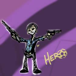 Hero Sketch by slashdraw