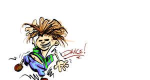 Dance Kiddo by slashdraw