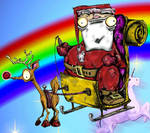 crazy santa 2 by slashdraw