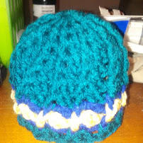 Starry Night Baby Hat by Kitonet