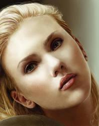 Scarlett Johansson by nobodysghost