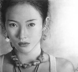 Zhang Ziyi by nobodysghost