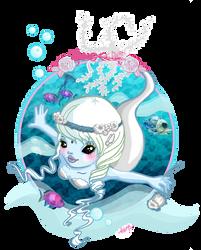 Cute Mermaid chibi by Sugarthemis