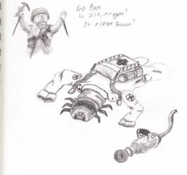 Medic is a Maggot by gufu1992
