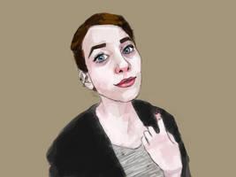 Portrait 1 by stevenf