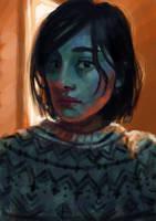 Portrait 10 by stevenf