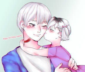 Happy Birthday Kaneki Ken by fob-love-panic