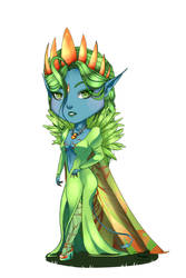 :Commission: Little Yeul by Thugithug