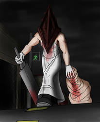 Pyramid Head by Artman-eyt