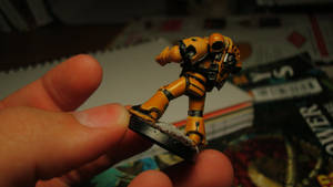 Imperial Fists WIP 2 by Stefoserpent