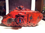 Land Raider Redeemer of the Angels 2 by Stefoserpent