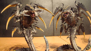Hive Fleet Daedalus Trygon 2 by Stefoserpent