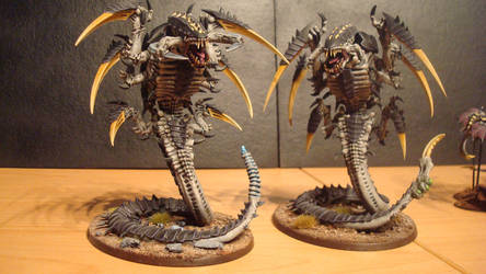 Hive Fleet Daedalus Trygon 3 by Stefoserpent