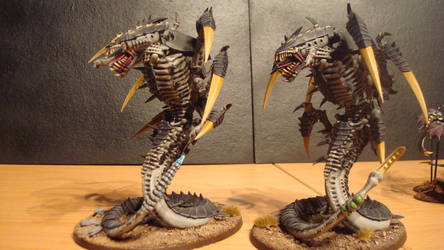 Hive Fleet Daedalus Trygon 4 by Stefoserpent