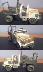 Scratch-Built Ork Trukk by Stefoserpent