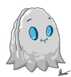 Ghost Wallnut/Nuez Fantasma|PvZ2 Fan plant. by MauroDboyPVZ