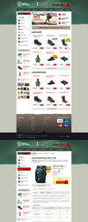 Grunge e-shop by lefiath