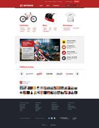 Sport e-commerce by lefiath
