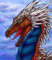 The angry dragon by Dalanatha