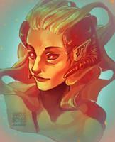Ava's Demon by vanduobones