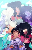 Steven Universe : Fusions by vanduobones