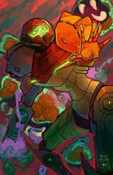 Metroid Prime by vanduobones