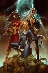 Marvel's Girl Comics No 3 by Jo-Chen