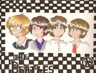 The Beatles by Lolly-Andy
