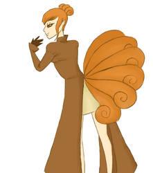 Verina the Vulpix by ayamerocks62294
