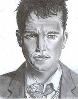 Matt Damon by jmoneygetdown