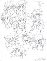 Fam Expressions by SP00KYELECTRIC