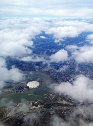 London From Above (Almost Home) by Sarahorsomeone