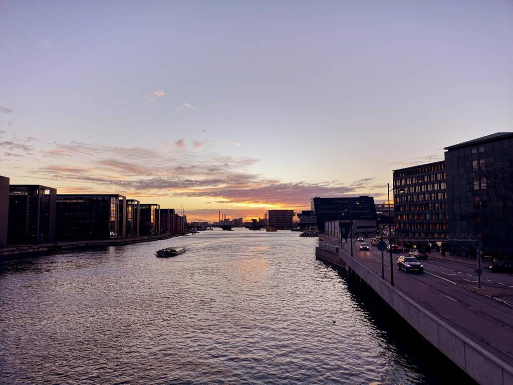 Copenhagen Sunset by Sarahorsomeone