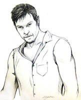 Daryl Dixon by m-a-y-h-e-m
