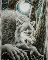 Night of the Werewolf by jackConigliomannaro
