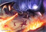 Into the Lair by Dragolisco