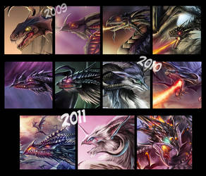 Dragon Art Evolution - Summary by Dragolisco