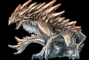 Earth Dragon Fafnir by Dragolisco