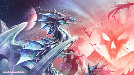 Facing the Nightmare by Dragolisco