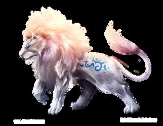 Ancestral Lion by Dragolisco