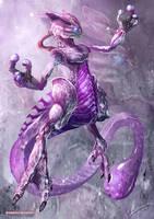Mystic Mewtwo by Dragolisco