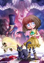 Fran Bow - Happy Halloween! by Dragolisco